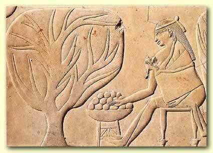 Porteo en antiguo Egipto. S. VII y VIII a.C,